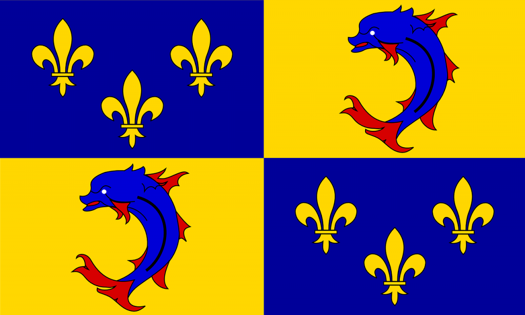 dauphine, coat of arms, historical
