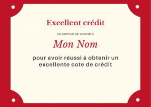 cote credit